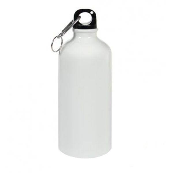 Бутылка для сублимации, металлическая, 600 мл, стандарт, белая