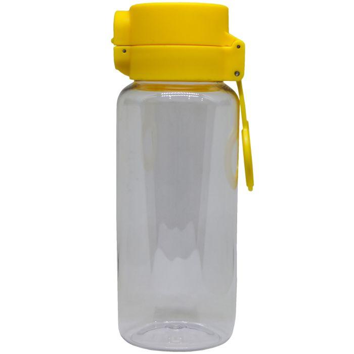 Спортивная бутылка Balon (classic) Yellow, 650 мл, цвет серый с жёлтым