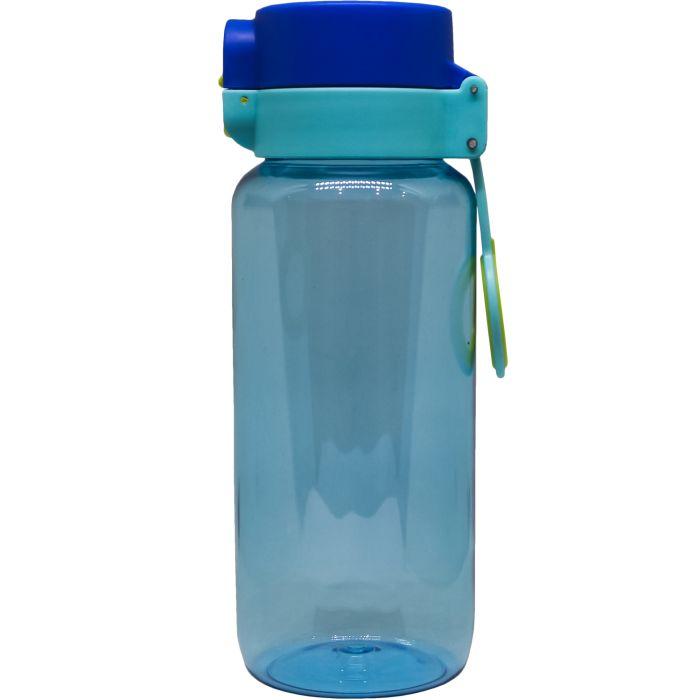 Спортивная бутылка Balon (classic) Yellow, 650 мл, цвет синий с голубым