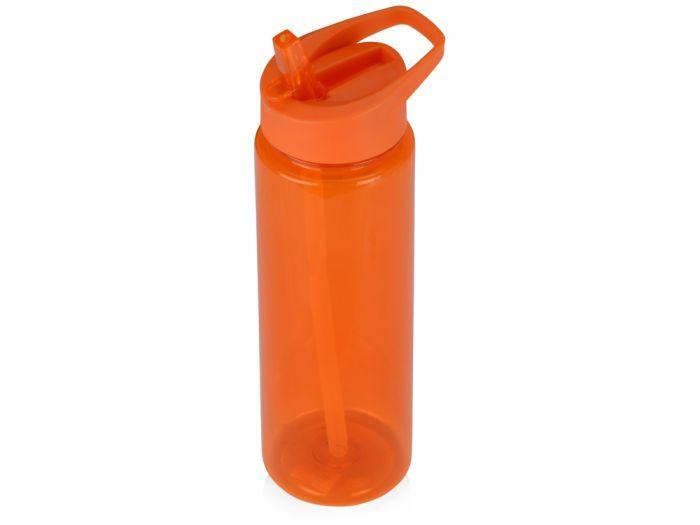 "Бутылка для воды ""Speedy"", объём 700 мл, цвет оранжевый"