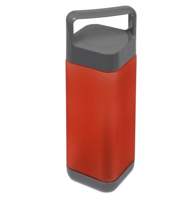 """Бутылка для воды """"Balk"""", soft-touch, цвет красный"""