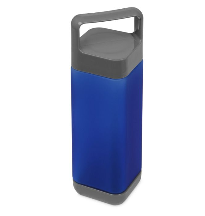 "Бутылка для воды ""Balk"", soft-touch, цвет синий"