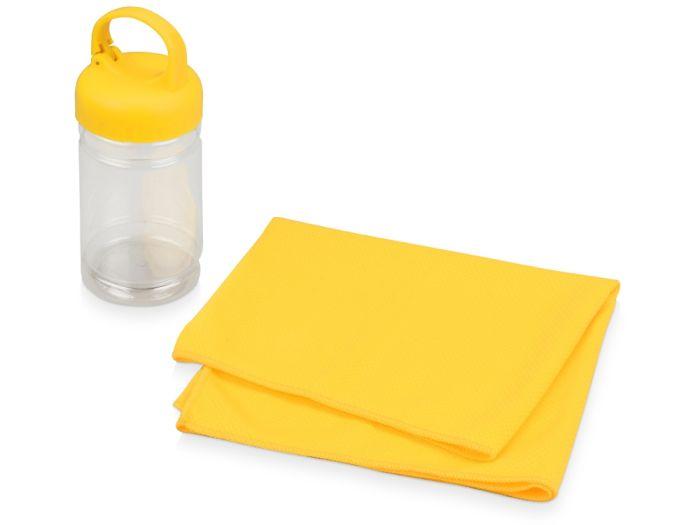 """Набор для фитнеса """"Cross"""", цвет жёлтый"""