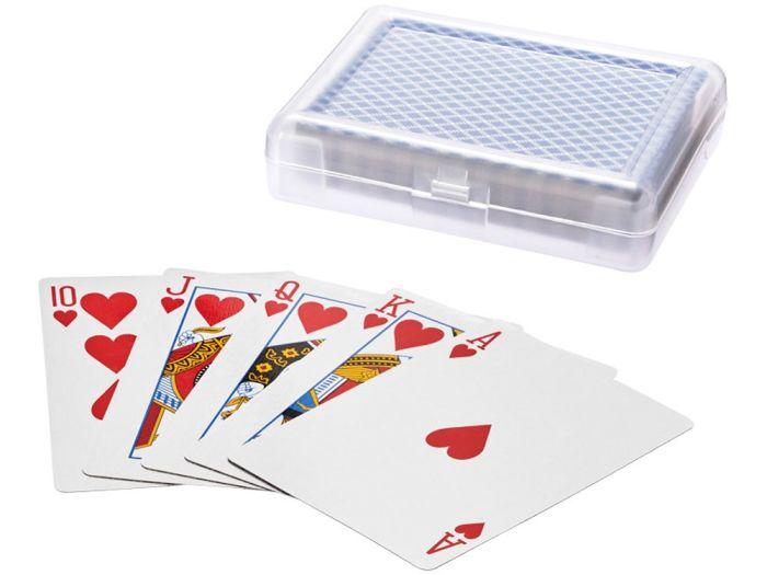 Карточная игра Reno в чехле, прозрачный/синий