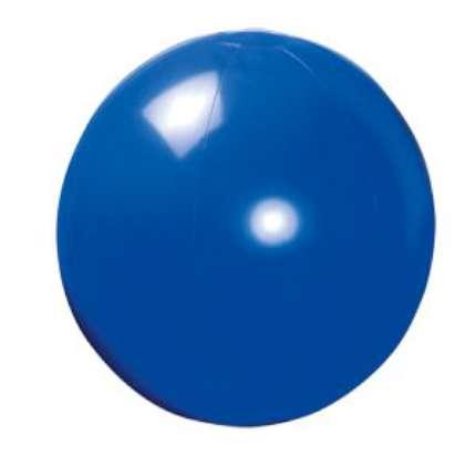Мяч пляжный надувной, 40 см, синий